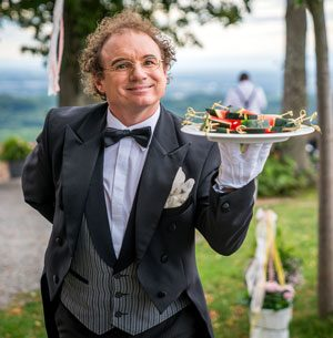 Unterhaltung Hochzeit Butler