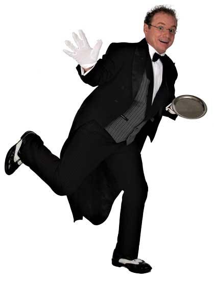 Butler für Hochzeit