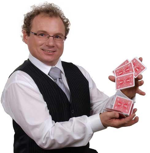 Zauberer in Mainz Unterhaltung für Hochzeit